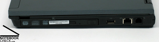 HP Compaq nc6400 Interfaces
