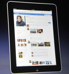 Facebook for iPad now official