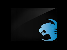 Mighty Blue – with the blue Roccat logo in the lower right corner
