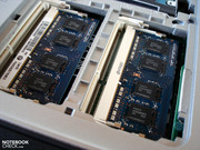 A total of 16 GB DDR3 RAM can be installed.