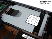 Our test devices contains a 320 GB HDD.