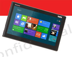 Lenovo to debut the Windows 8-powered ThinkPad Tablet 2