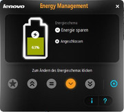 ... Energy Management instead of Vista's energy management...