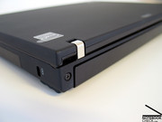 As well as the robust and Thinkpad typical metal hinges,...