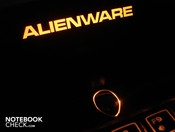 However, the colors of the chic Alienware banner and the power button can be changed