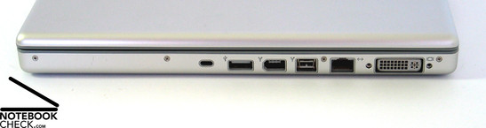 Apple MacBook Pro 15'' Interfaces