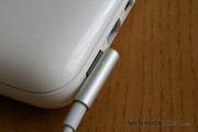 As with the previous model, it comes with the most recent MagSafe plug.