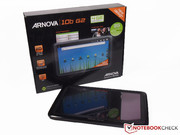 Arnova 10b G2 with Android 2.3 Gingerbread.