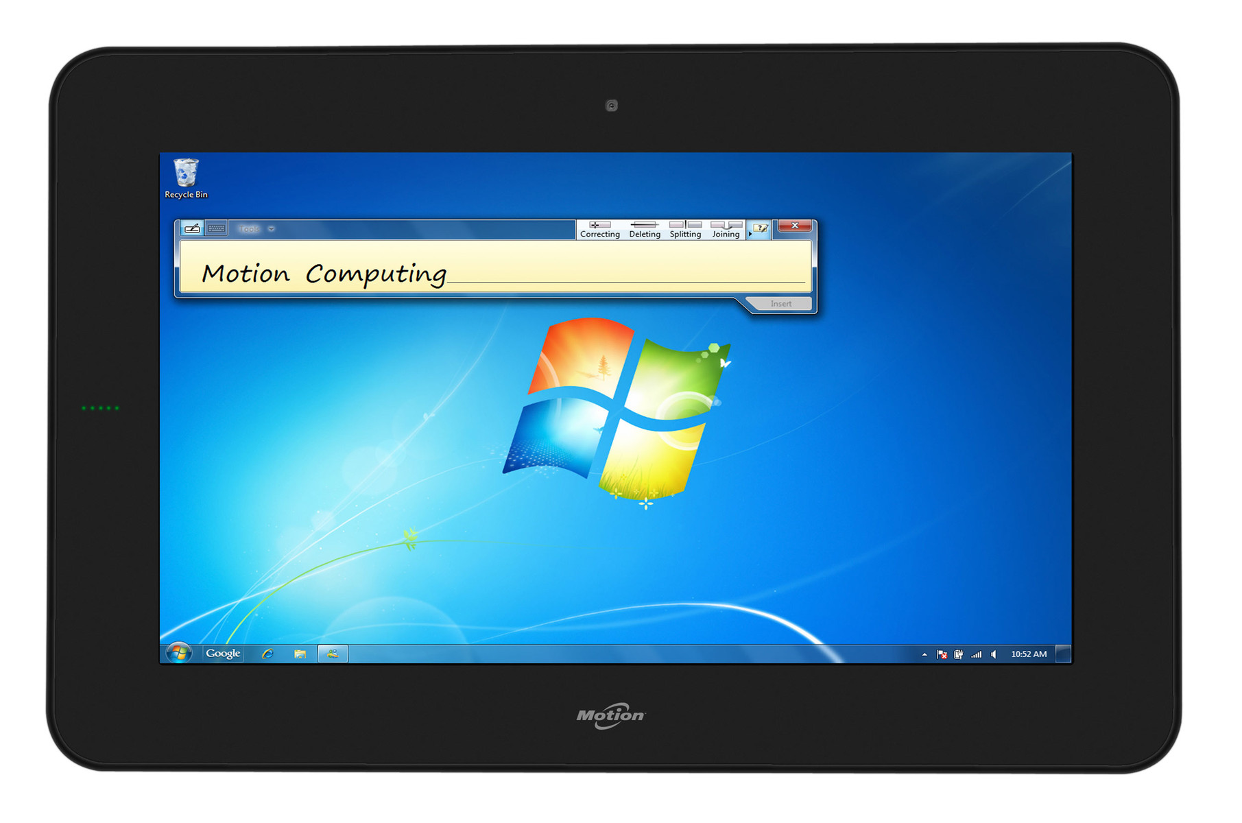 Notebook: Motion CL900 Tablet