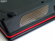 MSI builds four loudspeakers into the GT725,...