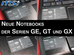 Computex 2013 | MSI Launches New GE, GT and GX Notebooks