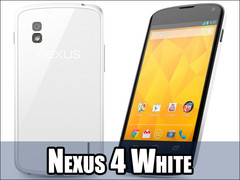LG launches a white version Nexus 4