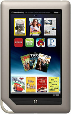 CyanogenMod 7 extended to Nook tablet