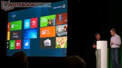 Video: Windows 8 on Tegra 3 onstage demonstration