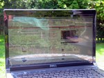 Intense reflections at outdoor use: Dell Studio 1555