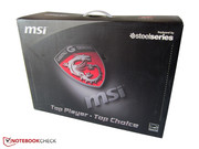 MSI want to particularly attract gamers with its product.