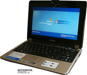 It is hard to tell whether the Asus N10E is a netbook or a subnotebook.