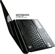 The reviewed notebook certainly looks sleek.