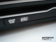 DVD burner on the left