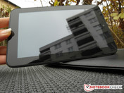 The 7-inch IPS display on the Prestigio MultiPad 7.0 Prime Duo ...