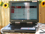 Toshiba Qosmio F30 Outdoors