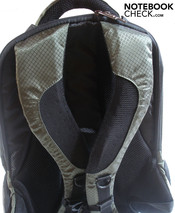 Rear view of the backpack