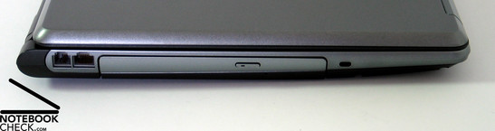 Sony Vaio VGN FE-41z Interfaces