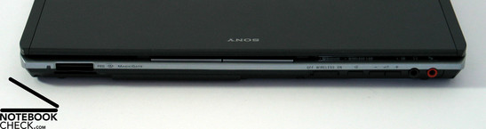 Sony Vaio VGN-TX5XN Interfaces