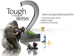 Corning reveals and demonstrates Gorilla Glass 2