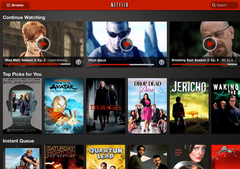 Netflix updates its player for Android, promises an iPad version soon