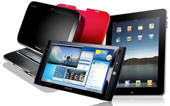 Tablet shipments to top Notebooks by 2016