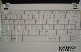 Asus Eee PC 1005HA-M Keyboard