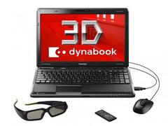 Toshiba to release new 3D laptop requiring glasses