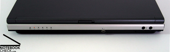 Toshiba Satellite U200 interfaces