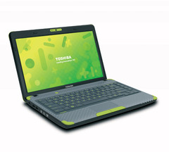 Toshiba: Toshiba shows off the L635 Kids' PC