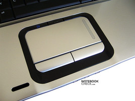 HP Pavilion dv9074cl Touchpad