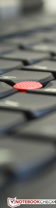 TrackPoint: alternative to touchpad.