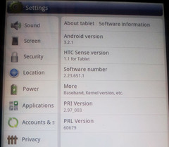 HTC Evo View 4G gets Honeycomb 3.2.1 update