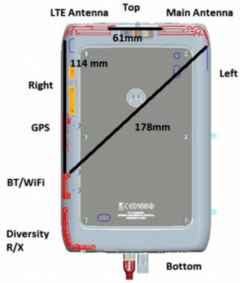 Motorola Xyboard with LTE hits FCC