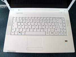 Zepto Mythos A15 keyboard