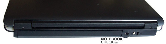 Toshiba Satellite L100-120 interfaces