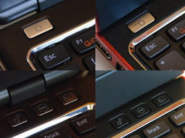 Identical buttons on the Inspiron 14z and Vostro V131
