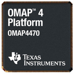 TI announces 1.8GHz OMAP4470 for tablets
