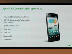 "Computex 2013 | Acer announces 5.7"" Liquid S1 phablet"