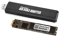 PhotoFast SSD kit upgrades storage for MacBook Air