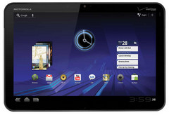 Motorola aims at 800,000 shipments for Xoom tablet