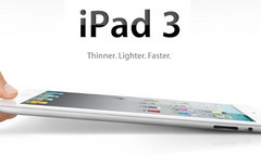 iPad 3 announcement could come next month