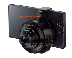 Sony preparing a line of accessories to turn a smartphone into a high-end camera
