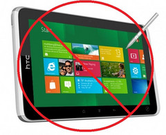 HTC could be blocked from producing Windows 8 tablets