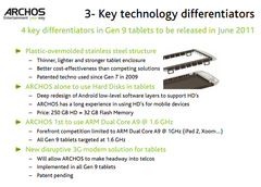 Archos outlines plans for upcoming generation of Android Tablets